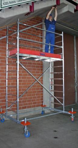 Rusztowania przejezdne aluminiowe Krause Stabilo