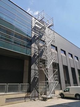 Kaltka schodowa - schodnia